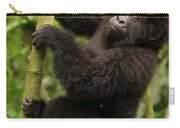 Endangered Mountain Gorillas Habitate Carry-all Pouch