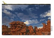 Eroded Sandstone Formations Fantasy Canyon Utah Carry-all Pouch