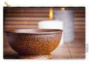 Exotic Bowl And Candles Carry-all Pouch