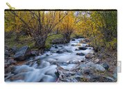 Fall At Big Pine Creek Carry-all Pouch by Cat Connor