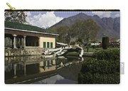 Fallen Tree In Water Pool Inside The Shalimar Garden In Srinagar Carry-all Pouch