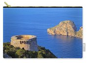 Famous Tower Of Savinar On Ibiza Island Carry-all Pouch