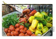 Farmers Market Florence Italy Carry-all Pouch