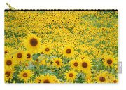Field Of Sunflowers Helianthus Sp Carry-all Pouch