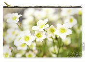 Field Of White Blossoms Carry-all Pouch
