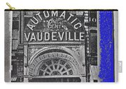 Film Homage Automatic 1 Cent Vaudeville Peep Show Arcade C.1890's New York City Collage 2013 Carry-all Pouch