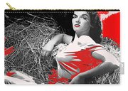 Film Homage Jane Russell The Outlaw 1943 Publicity Photo Photographer George Hurrell 2012 Carry-all Pouch