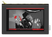 Film Homage Joe Pesci The Public Eye 1992 Weegee Screen Capture Color Added 2011 Carry-all Pouch