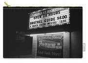 Film Noir Farewell My Lovely 1975 Brothel Guide Virginia St. Bookstore Reno Nevada 1979-2008 Carry-all Pouch