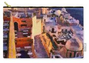 Fira City During Sunset Carry-all Pouch