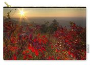Fire On The Mountain Carry-all Pouch by Debra and Dave Vanderlaan