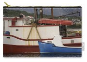2 Fishing Boats At The Dock Carry-all Pouch