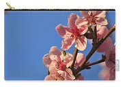 Flowering Peach Tree Carry-all Pouch