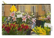 Flowers At Market Carry-all Pouch