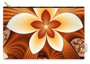 Fractal Fantasy Flowers Carry-all Pouch