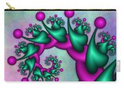 Fractal Neon Catwalk Carry-all Pouch
