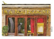 French Storefront 1 Carry-all Pouch by Debbie DeWitt
