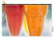 Fresh Orange Carrot And Watermelon Fruit Juice Carry-all Pouch