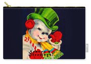 Frosty The Snowman Carry-all Pouch
