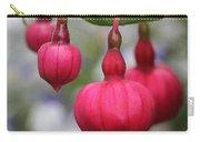 Fuchsia Named Dark Eyes Carry-all Pouch