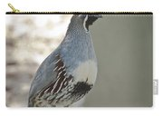 Gambel's Quail  Carry-all Pouch