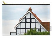 Geometry In Black On White Carry-all Pouch