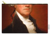 George Washington By Gilbert Stuart -- 2 Carry-all Pouch