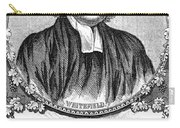 George Whitefield (1714-1770) Carry-all Pouch