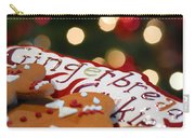 Gingerbread Cookies On Platter Carry-all Pouch