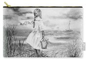 Girl And The Ocean Carry-all Pouch