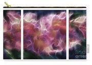 Gladiola Nebula Triptych Carry-all Pouch by Peter Piatt