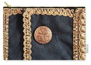 Golden Buttons Carry-all Pouch