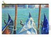 Gondolas And San Giorgio Maggiore Venice Carry-all Pouch