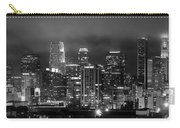 Gotham City - Los Angeles Skyline Downtown At Night Carry-all Pouch