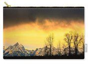Grand Tetons Wyoming Carry-all Pouch