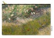 Grass And Butterflies Carry-all Pouch