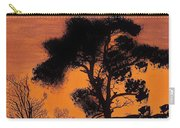 Gray Sky Sunset Carry-all Pouch
