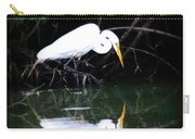 Great White Egret Carry-all Pouch