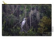 Lowcountry Marsh White Heron Carry-all Pouch