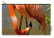 Greater Flamingo Carry-all Pouch