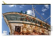 Greek Fishing Boat Carry-all Pouch