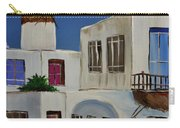 Greek Village Carry-all Pouch