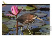 Green Heron Photo Carry-all Pouch