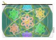 Green Revolution Chakra Mandala Art Yoga Meditation Tools Navinjoshi  Rights Managed Images Graphic  Carry-all Pouch