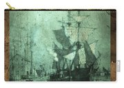 Grungy Historic Seaport Schooner Carry-all Pouch