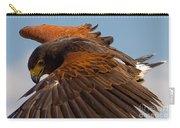 Harris Hawk Approach Carry-all Pouch