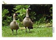 2 Hawaiian Nene Geese Carry-all Pouch
