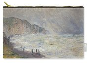 Heavy Sea At Pourville Carry-all Pouch