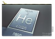 Helium Chemical Element Carry-all Pouch