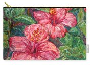 Hibiscus Carry-all Pouch by Kendall Kessler